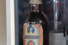 Een origineel flesje bier van Phoenix