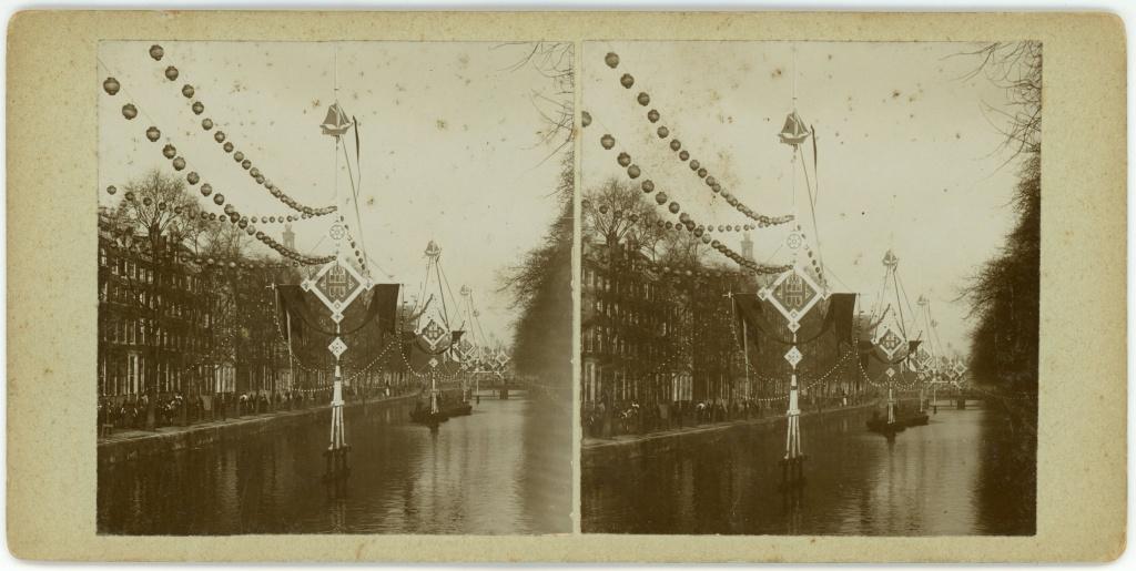 Feesten te Amsterdam, bezoek koningin en Prins Hendrik, maart 1901