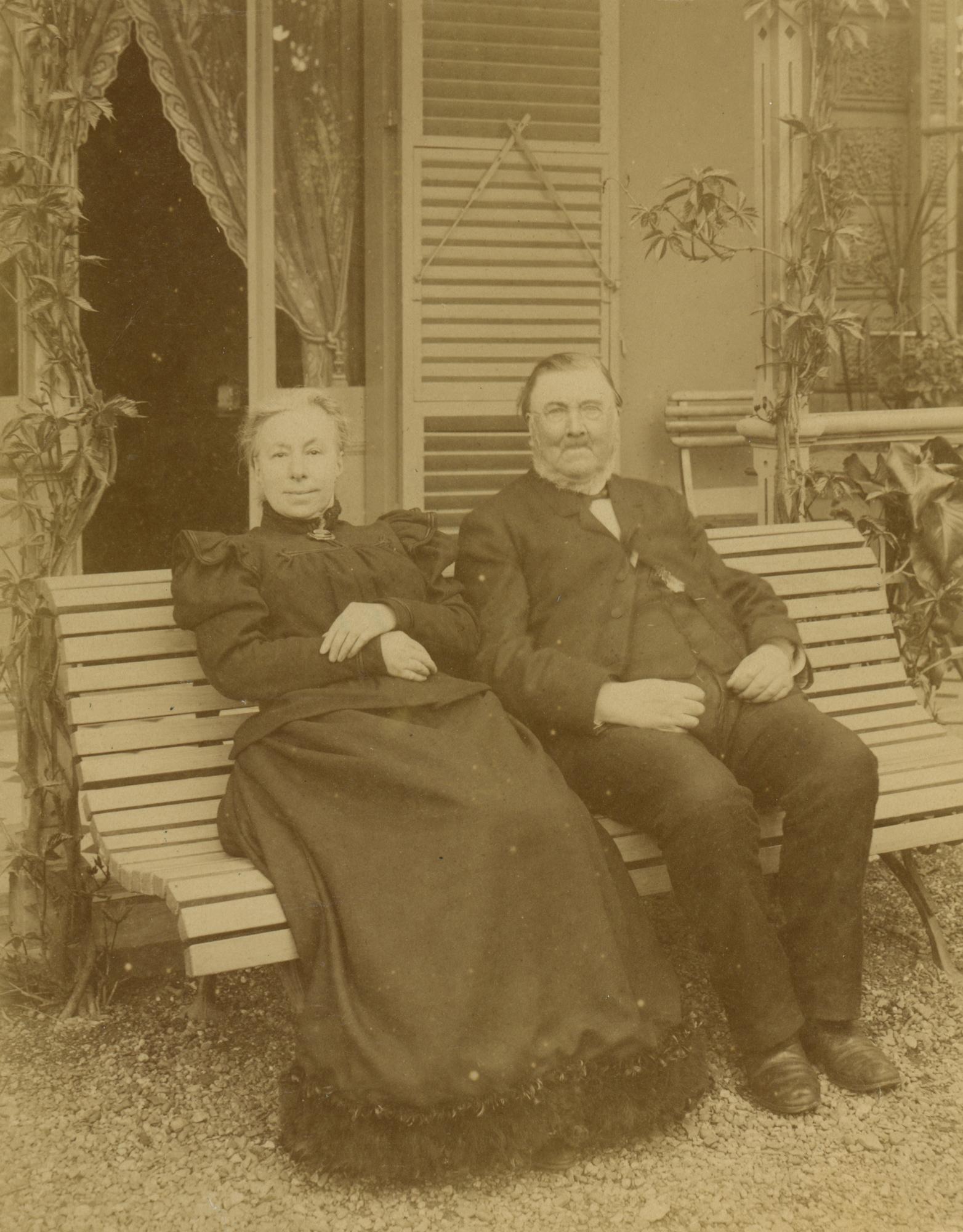 Tante Met en oom Romery