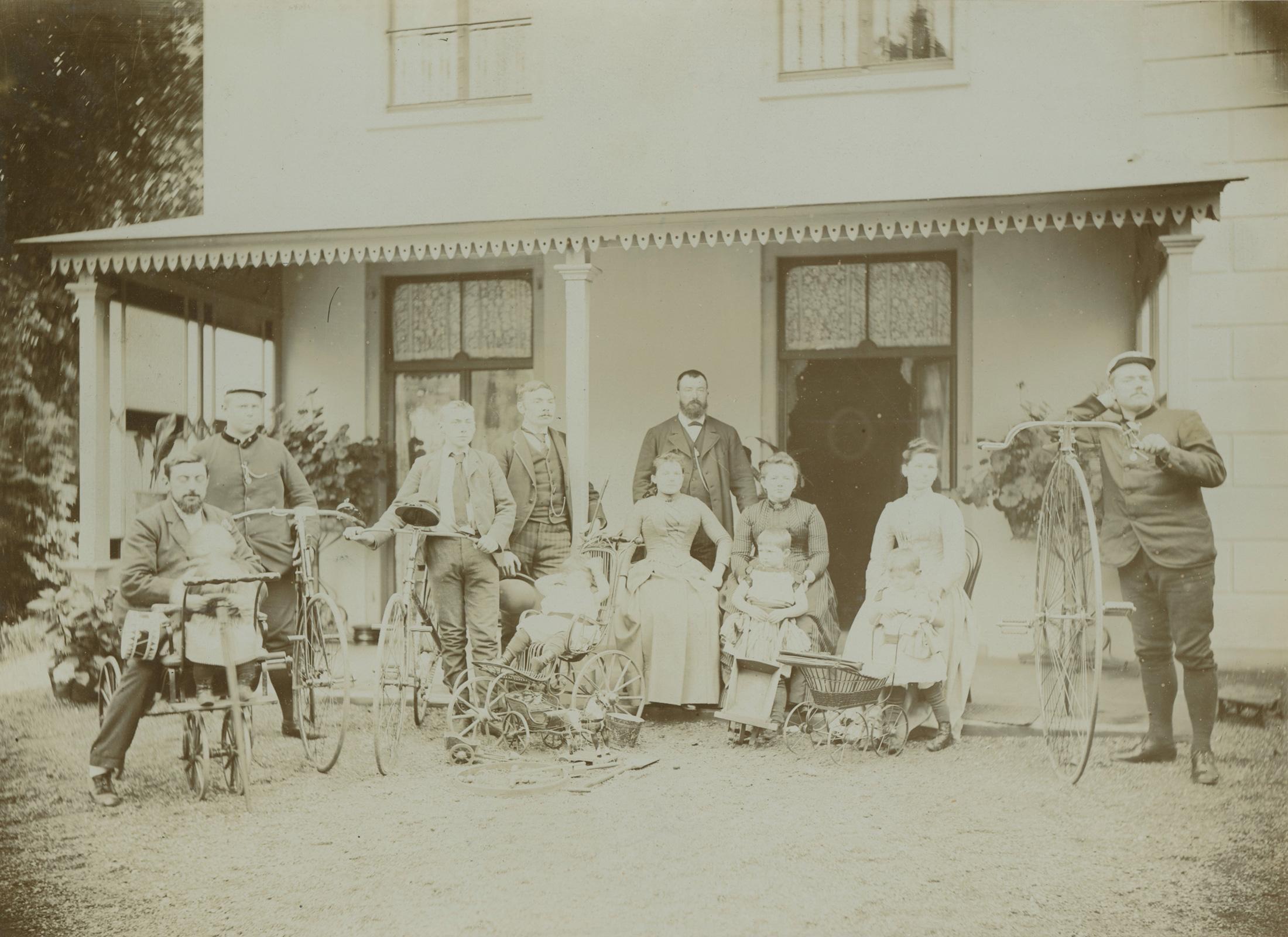 Familie bij Huize Kersbergen