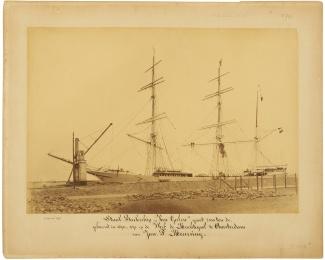 Van Galen in aanbouw, 22 april 1891