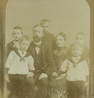 Familieportret, reproductie