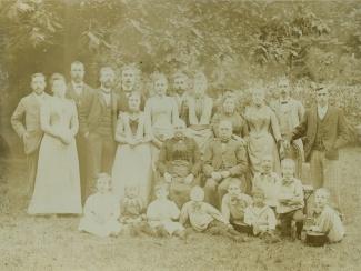 Familieportret Korthals Altes bij huize Casa Cara