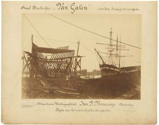 Van Galen in aanbouw, 20 juni 1890