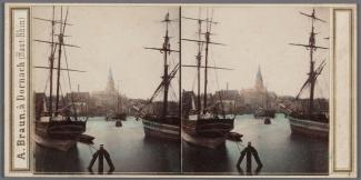 Westerdok met schoener Corneliszoon