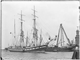 Composietbark 'Baarn' (1879-1899), 1895