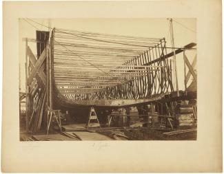 Van Galen in aanbouw, 5 juli 1890