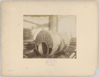 Stoomketel, ca 1885