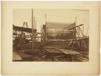 Van Galen in aanbouw, 28 juni 1890
