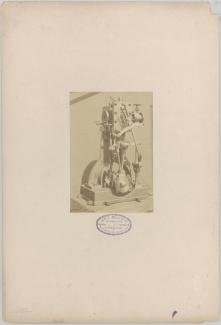 Onderdeel van stoommachine, ca 1885