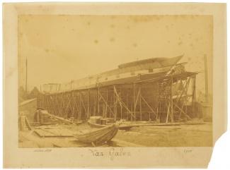 Van Galen in aanbouw, 15 december 1890