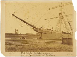 Van Galen in aanbouw, 9 april 1891