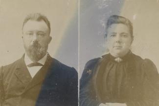 Jan Frederik Meursing en zijn vrouw Antonia Korthals Altes